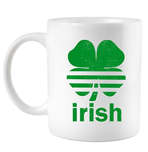 Teeshirtpalace Irish Clover Soccer Logo St Patricks Day