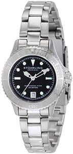 Stuhrling Original Women's 1162.12111 Nautical Regatta Sailor Swiss Made Quartz Divers Date Stainless Steel Watch