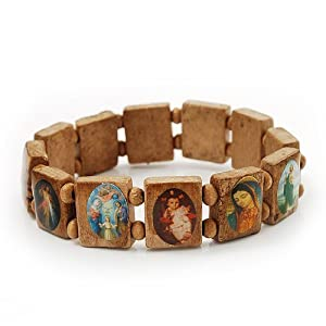 light brown wooden religious images catholic jesus icon