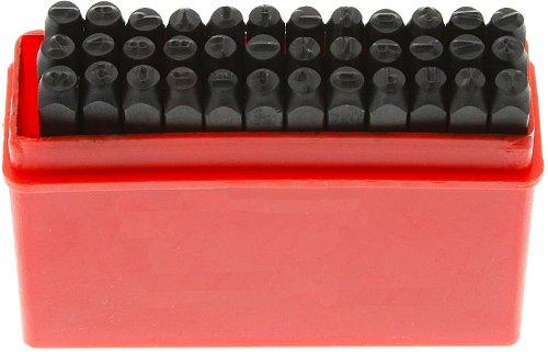 SE - Punch Set - Number & Letter, Hardened Steel, 3mm, 36 Pc - 953NLS (Steel Number Punch Set compare prices)