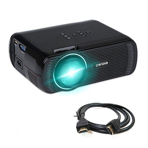 Crenova-XPE460-Beamer-1200-Lumens-800480-Auflsung-Augenschutz-inklusive-HDMI-Kabel-Schwarz