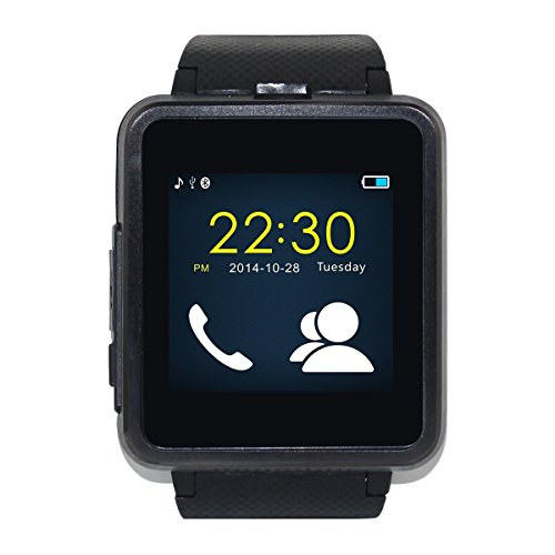 Generic Stainless Steel Bluetooth 4.0 Smart Watch (Black)
