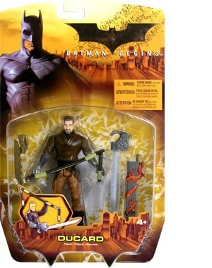 BATMAN BEGINS DUCARD BROWN SUIT VARIANT BY MATTEL