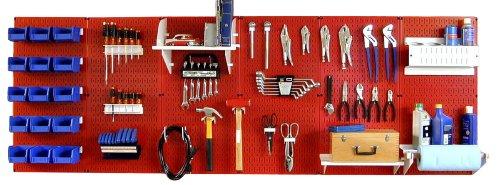 Wall Control 30-Wrk-800Rw Master Workbench Metal Pegboard Tool Organizer