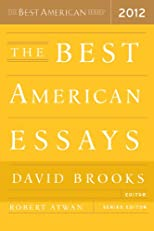 The Best American Essays 2012 (The Best American Series (R))