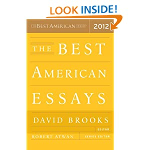 best american essays 2000 table contents