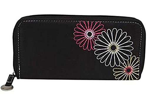 11. Travelon Safe Id Daisy Ladies Wallet