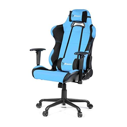 Arozzi-Torretta-XL-Sedia-da-Gaming-Tessuto-Azzurro