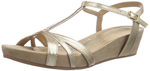 Unisa BOILI_15_SM, Sandali donna, Oro (Gold (PLATINO)), 38