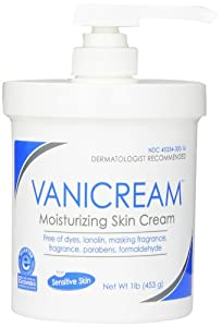 Vanicream Moisturizing Skin Cream with Pump Dispenser, 1 Pound