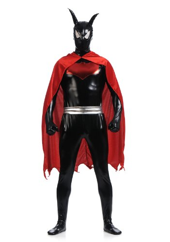 BlackSunnyDay Red Back Cape Batman Beyond Full Batsuit Costume