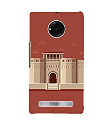 Fiobs Palace Back Case Cover for YU YUNIC