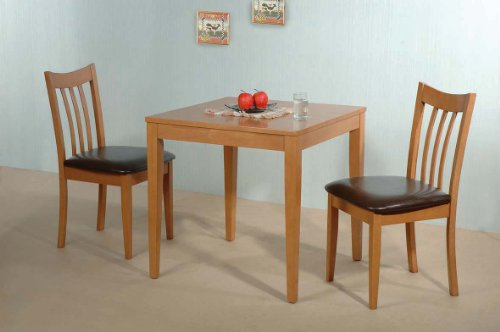 Arran Dining Set Beech/Mocca