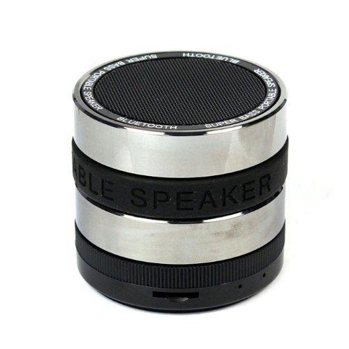 Amtonseeshop Mini Portable Bluetooth Handsfree Wireless Speaker For Cell Phone (Super Bass Black)