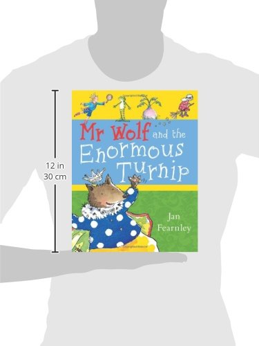 Mr Wolf and the Enormous Turnip (Mr Wolf series)
