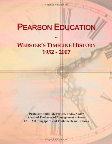 Pearson Education: Webster's Timeline History, 1952 - 2007