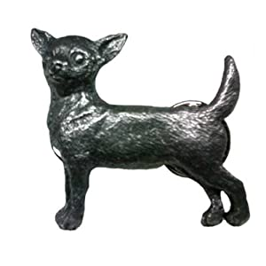 Chihuahua Pewter Pin