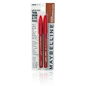 Maybelline Expert Eyes Twin Brow & Eye Pencils, Auburn
