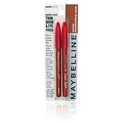 Maybelline Expert Eyes Twin Brow & Eye Pencils, Auburn at Amazon.com