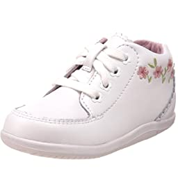 Stride Rite SRT Emilia Bootie (Infant/Toddler),White,3 Infant M