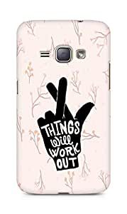 AMEZ things will work out Back Cover For Samsung Galaxy J1 (2016 EDITION)