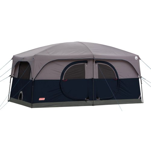 Coleman 9-Person Family Cabin Tent - Grey (14'x10')