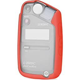 Sekonic 401-860 Protective Skin for L-308 Series Meters (Red)