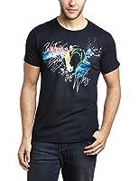 Pink Floyd Men's Marching Short Sleeve T-Shirt