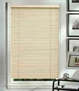 Graber 1 horizontal aluminum mini blinds color alabaster for 12 inch wide window blinds