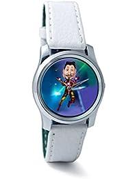 BigOwl Man Of Iron Women's Analog Wrist Watch 3681196136-RS2-S-WHT