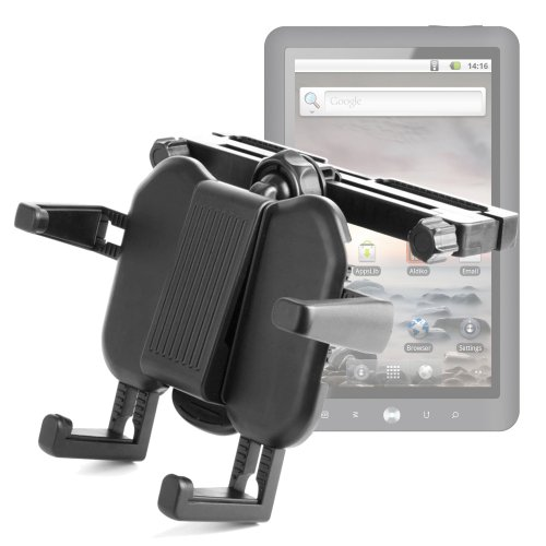 Headrest Mount For Gemini Joytab 9.7, Coby Mid7015 Kyros Internet Touchscreen & Mid7022 Kyros Tablets front-1017175