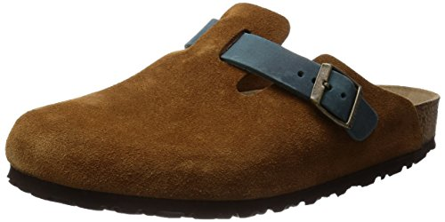 [ビルケンシュトック] BIRKENSTOCK/BOSTON 259661 Brown Blue(Brown Blue/41)