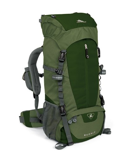 Save up to 60% on Select High Sierra Summit 45 Frame Packs