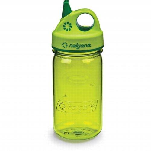 Nalgene Tritan Grip-N-Gulp Bpa-Free Water Bottle,Spring Green front-471588