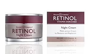 skincare ldel cosmetics retinol night cream 50 ml jar nachtpflege beauty. Black Bedroom Furniture Sets. Home Design Ideas