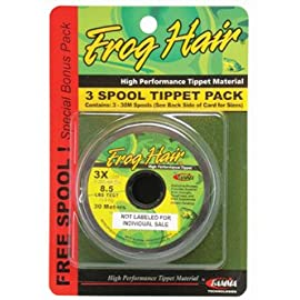 Frog Hair 7x Tippet Spool