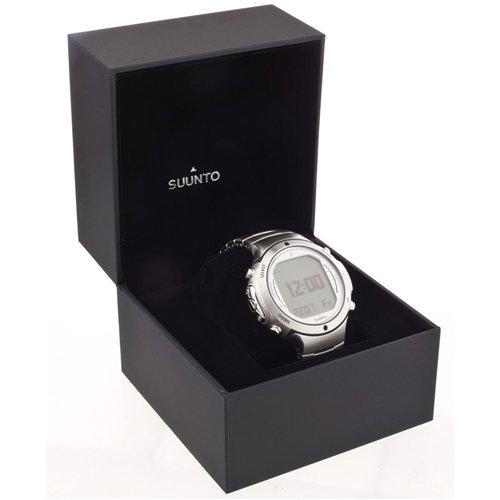 Suunto Men's D6i ALL BLACK STEEL W/ USB Athletic Watches suunto core brushed steel black leather