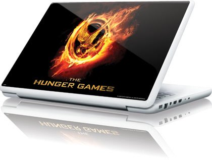 Skinit The Hunger Games Logo Vinyl Laptop Skin for Apple MacBook 13-inch