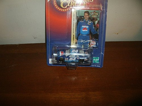 1999 Jeff Gordon #24 Pepsi (Raced in 5 Busch Series Races) 1/64 Scale Winners Circle Lifetime Series Edition #2 of 8 With Gordon Photo Insert
