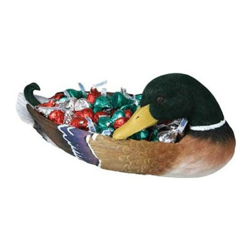 Rivers Edge Products Duck Candy Dish