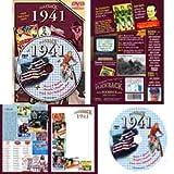 1941 DVD: Your Fabulous Year - Nostalgic 70th Birthday Gift