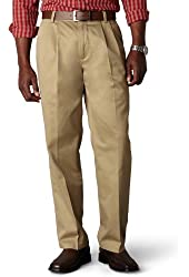 Dockers Men's Signature Khaki D3 Classic-Fit Pleated Pant