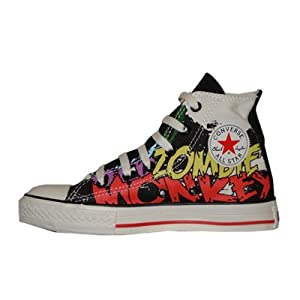 a8d9f705b9bcce Converse Chuck Taylor All Star Canvas High Top Big Kids SciFi Words  White Black 304590F