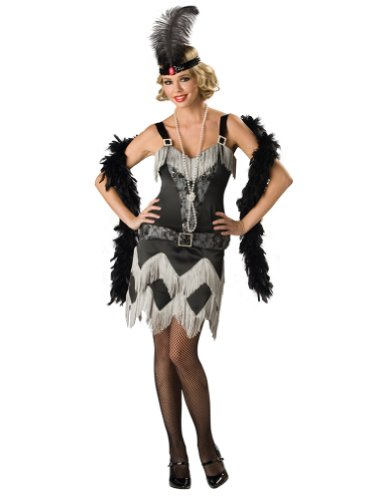 Sexy Flapper Costume Charleston Girl Fringe Dress 20s Costume