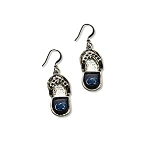 Buy NCAA Penn State Nittany Lions Flip Flop Crystal Earrings by aminco