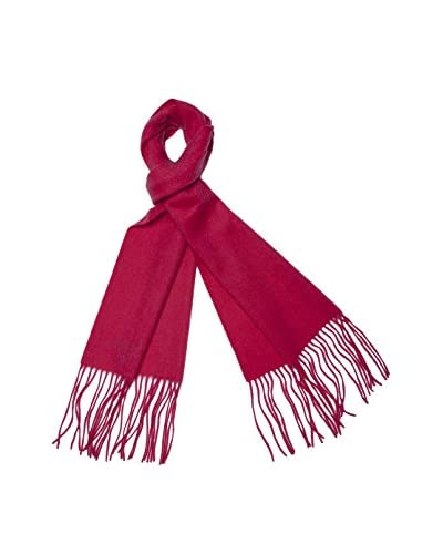 a & R Cashmere Women's Cashmere & Wool Waterweave Scarf, Begonia