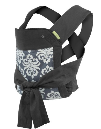 Review Infantino Sash Mei Tai Carrier Black/Gray