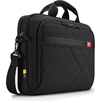 Modernized for today's casual professional, this asymmetrically quilted case carries a laptop, tablet and your business needs within a deep black exterior highlighted with red accents.                                                Quilted case provi...