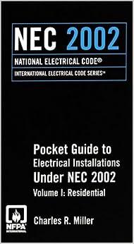 2002 nec residential pocket guide to electrical. Black Bedroom Furniture Sets. Home Design Ideas
