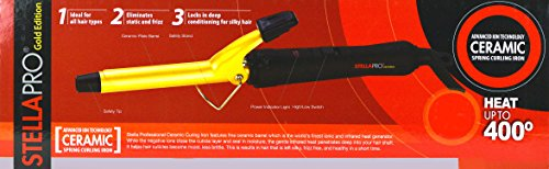 Stella Pro Ceramic Curling Iron 5/8'' #9923 (Infiniti Conair Pink Curling Iron compare prices)